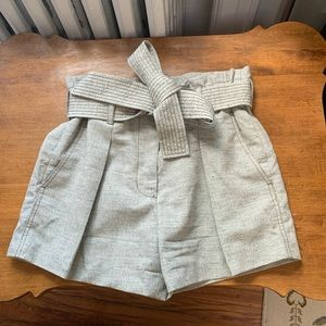3.1 Phillip Lim grey wool/silk shorts size 4